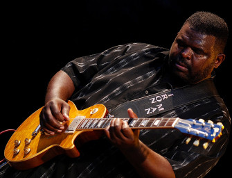 Michael Burks performs live in The BluesMobile