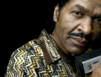Bobby Rush hops in The BluesMobile for a ride with Elwood