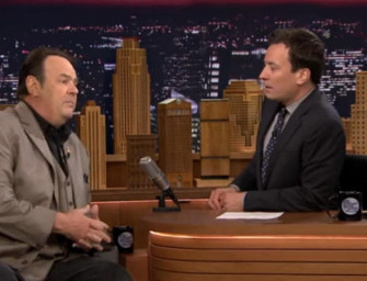 Dan Aykroyd talks James Brown on Late Night Starring Jimmy Fallon