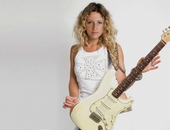 Ana Popovic this weekend in The BluesMobile!